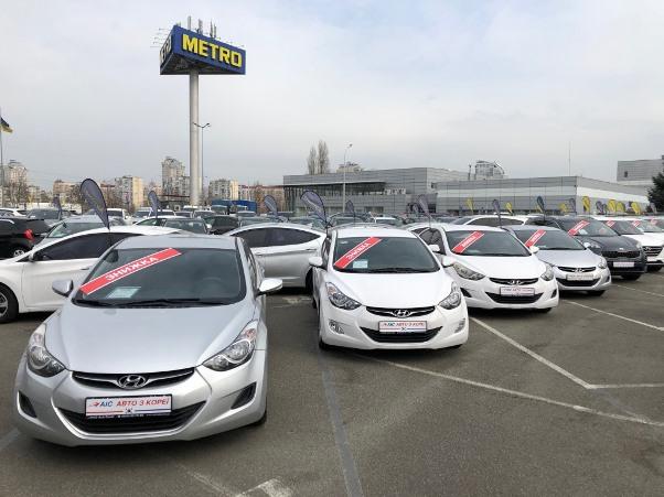 Hyundai Elantra з пробігом можна придбати в кредит від 79 грн. на добу!